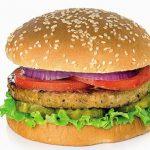 Las hamburguesas vegetales hicieron que los comensales se sintieran más llenos que la carne