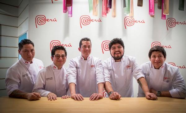 Los chefs del Pakta y del Piscomar, protagonistas de los showcookings de Perú en Madrid Fusión