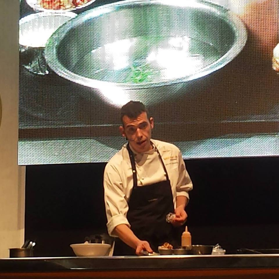 El chef Antonio Villaescusa, del restaurante Maestral de Alicante, gana el Concurso Cocina Creativa Gamba Roja Denia