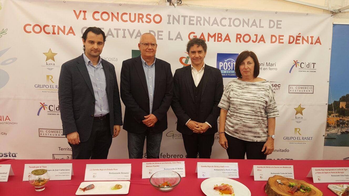Colomer destaca el respaldo y apoyo de Turisme a Dénia como 'Capital Gastronómica'
