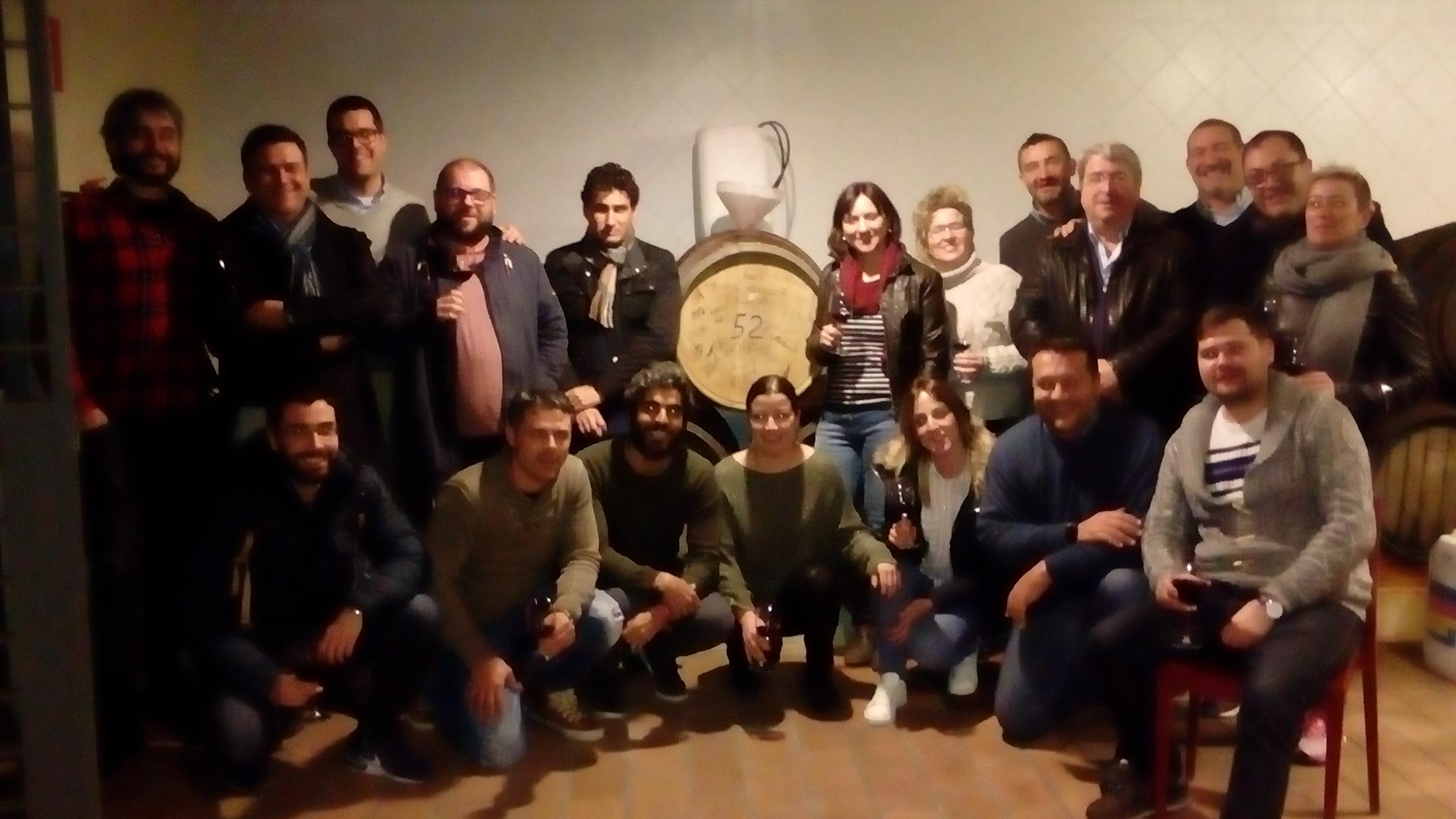 Los alumnos del Máster de Sumiller que imparte la DOP Valencia elaboraron su vino propio vino