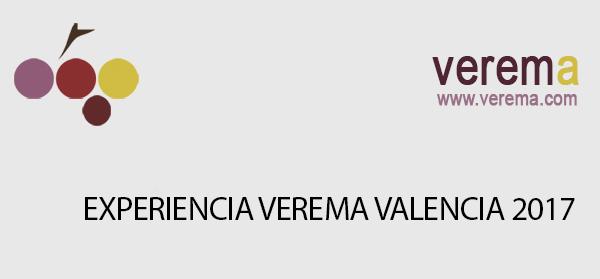 La 16ªExperiencia Verema Valencia se celebrará los días 24y 25 de febrero en el Hotel Las Arenas