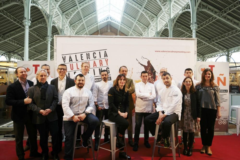 Los mejores chefs locales e internacionales compartirán sus experiencias gastronómicas en el  Mercado Colón @mercadocolonvalenci