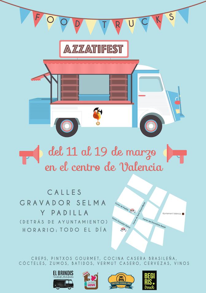Arranca el AzzatiFest este sábado en el centro de Valencia