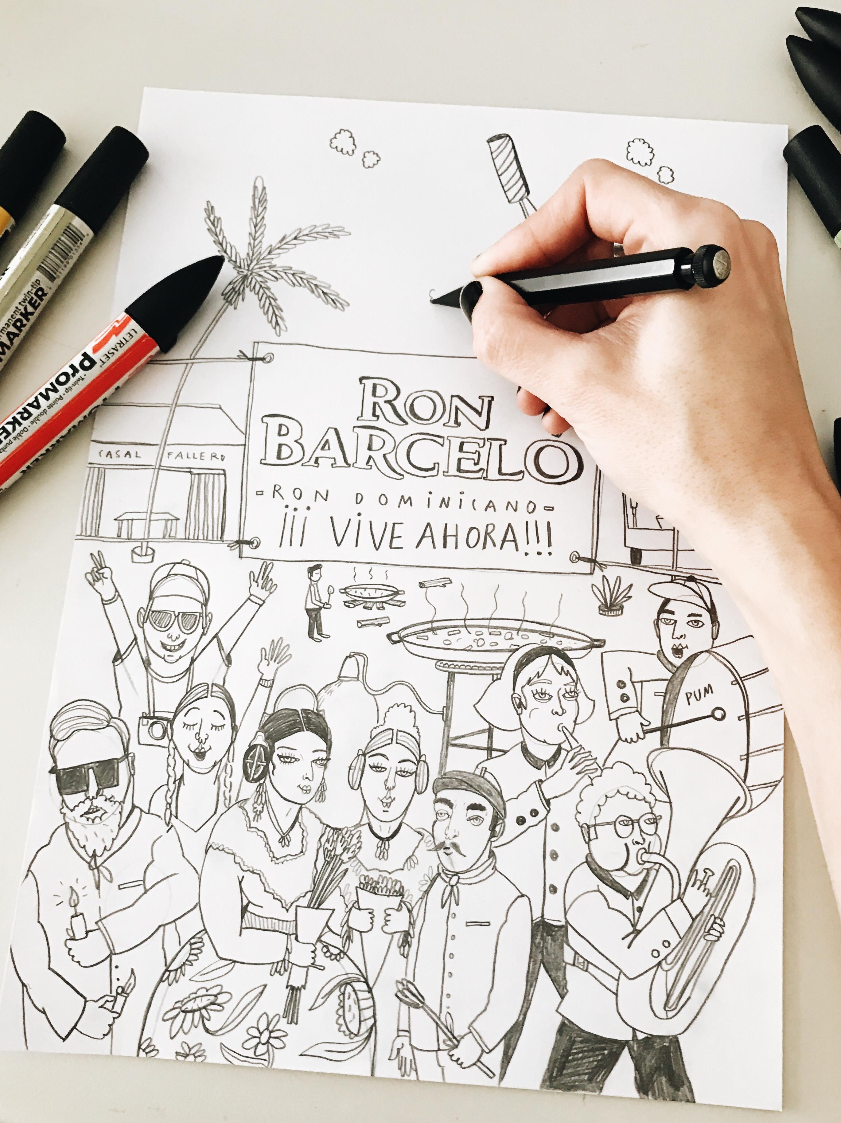 Ron Barceló rinde homenaje a las Fallas de Valencia en una edición limitada con dos diseños en su botella