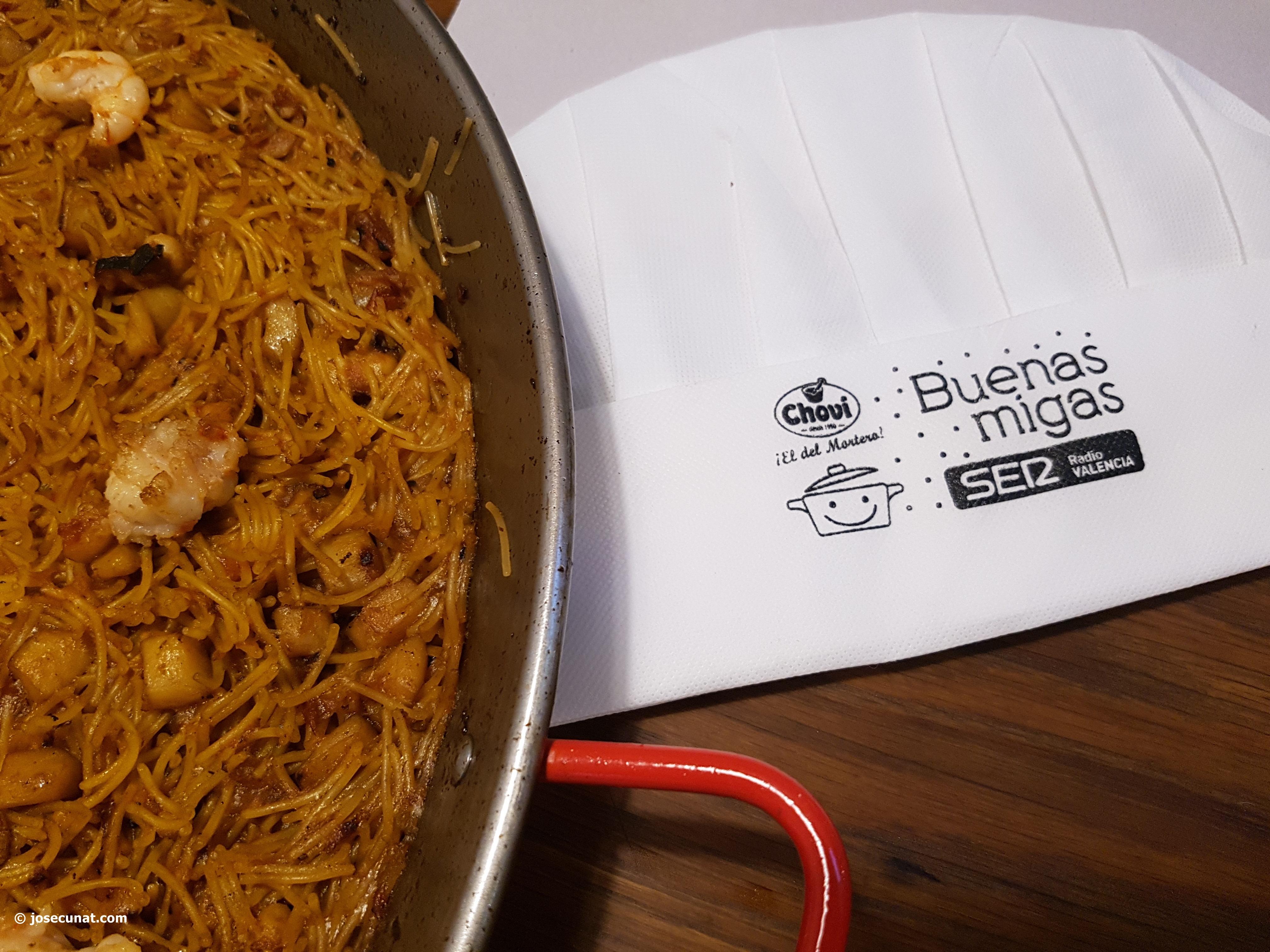 Buenas Migas con Radio Valencia Cadena SER, actividad culinaria infantil que no te puedes perder @BuenasMigasSER