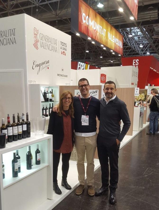 Un total de 38 bodegas de vino y cava valenciano presentan sus novedades en la feria alemana Prowein