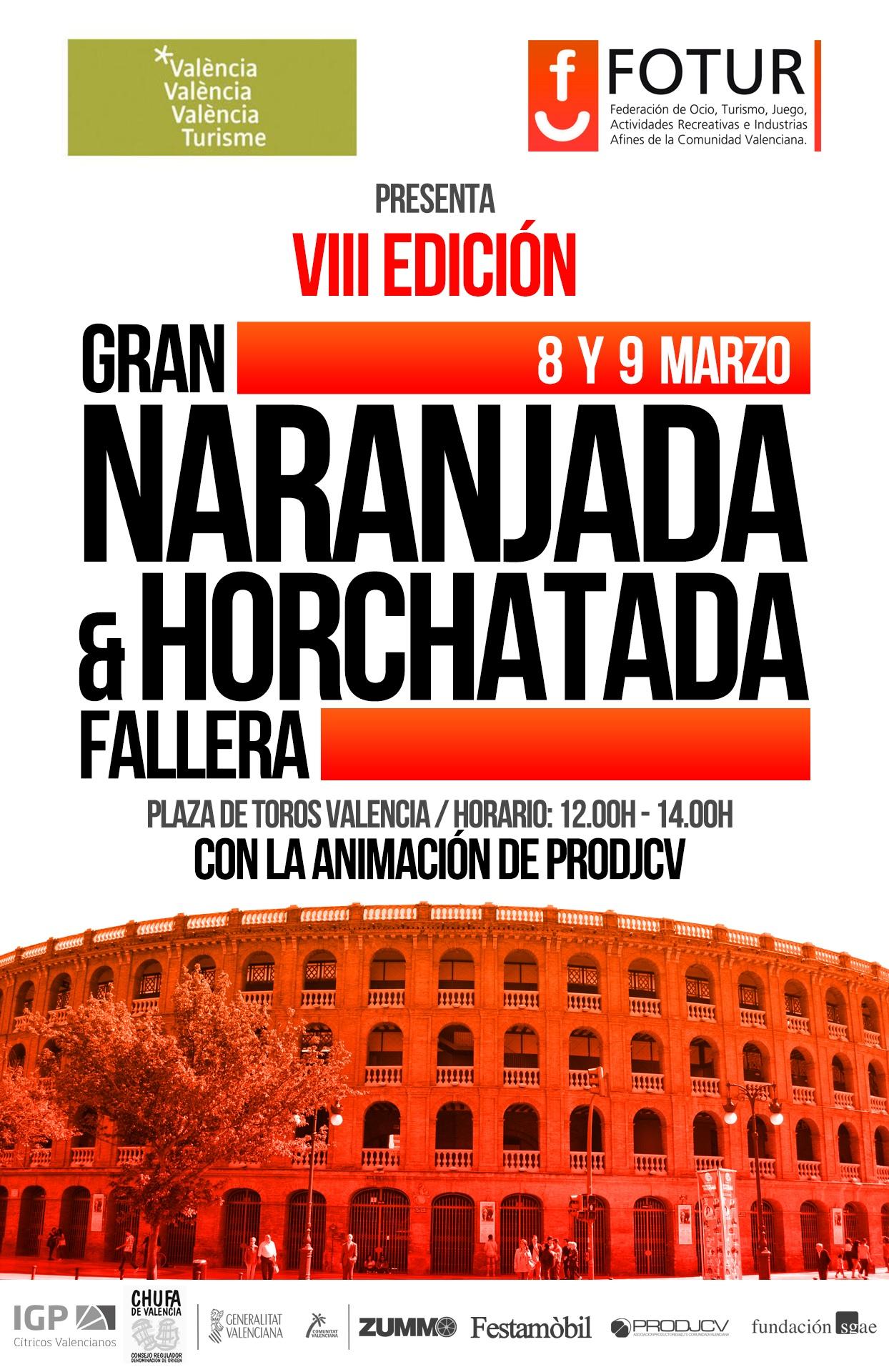 VIII Edición Horchatada y Naranjada