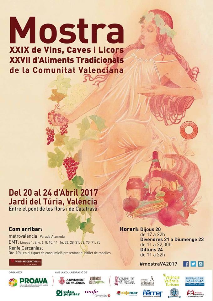 XXIX Mostra de Vins i Aliments tradicionals de la Comunitat Valenciana