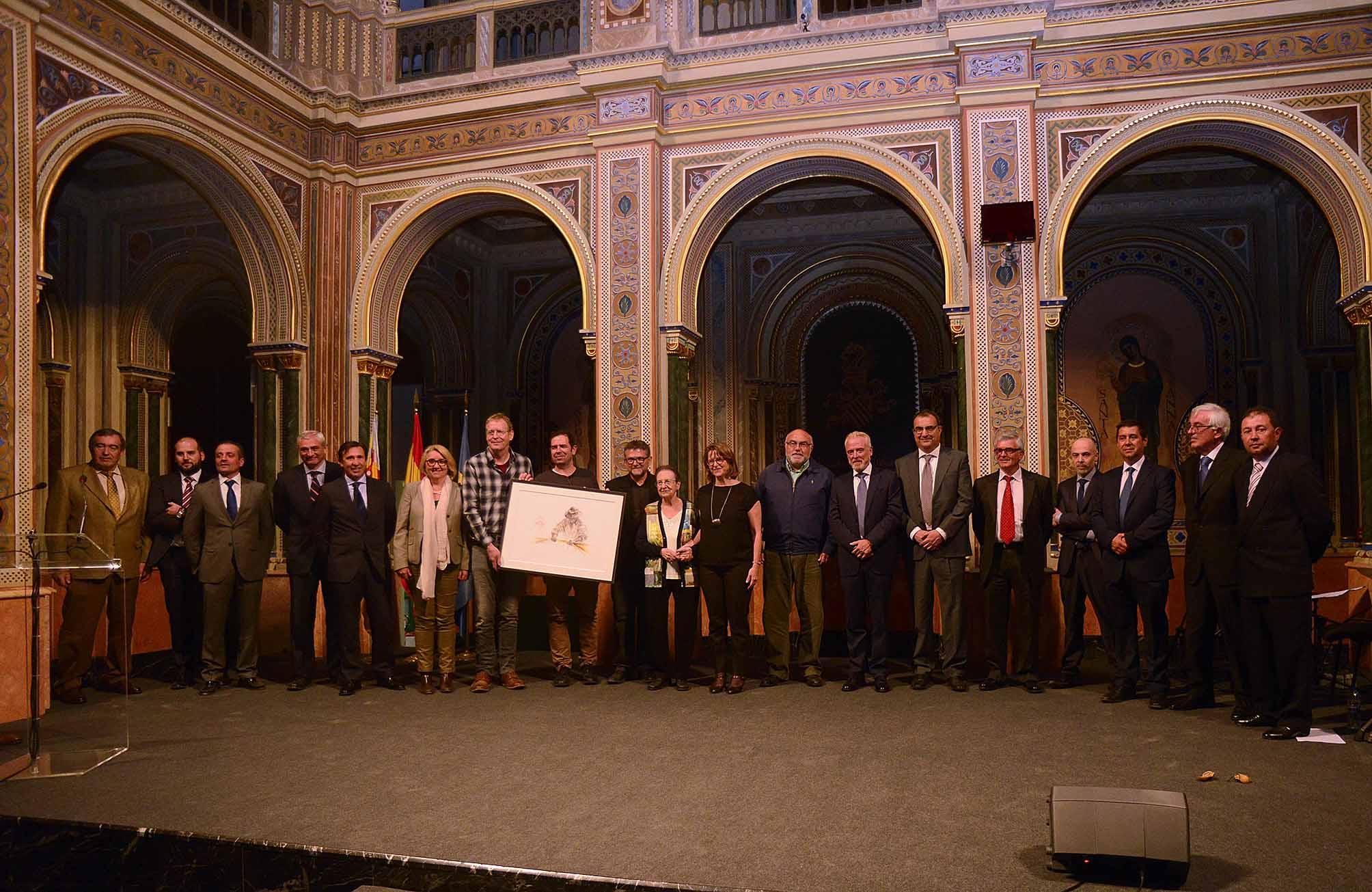 La Beneficencia de Valencia acogió el acto de entrega de los Reconocimientos de la D.O. Arroz de Valencia