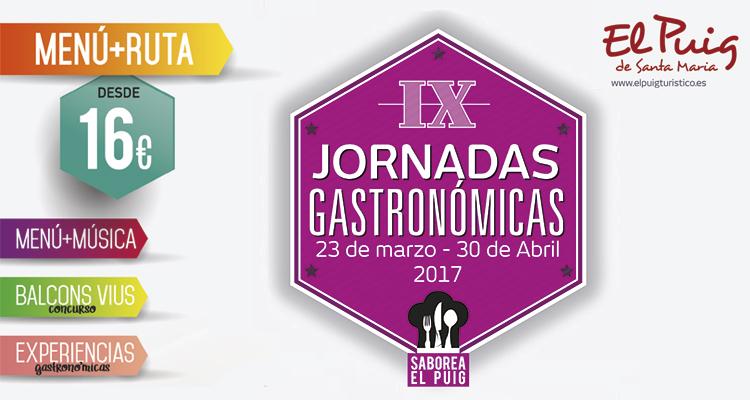 El Puig celebra un año más sus Jornadas Gastronómicas del 23 de marzo al 30 de abril