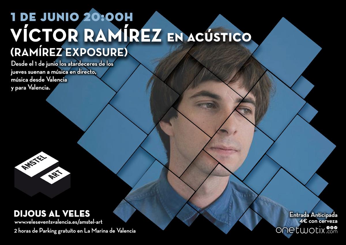 Arranca Dijous al Veles con Ramírez en acústico | Reina Roja | Opening de la Terraza Malabar