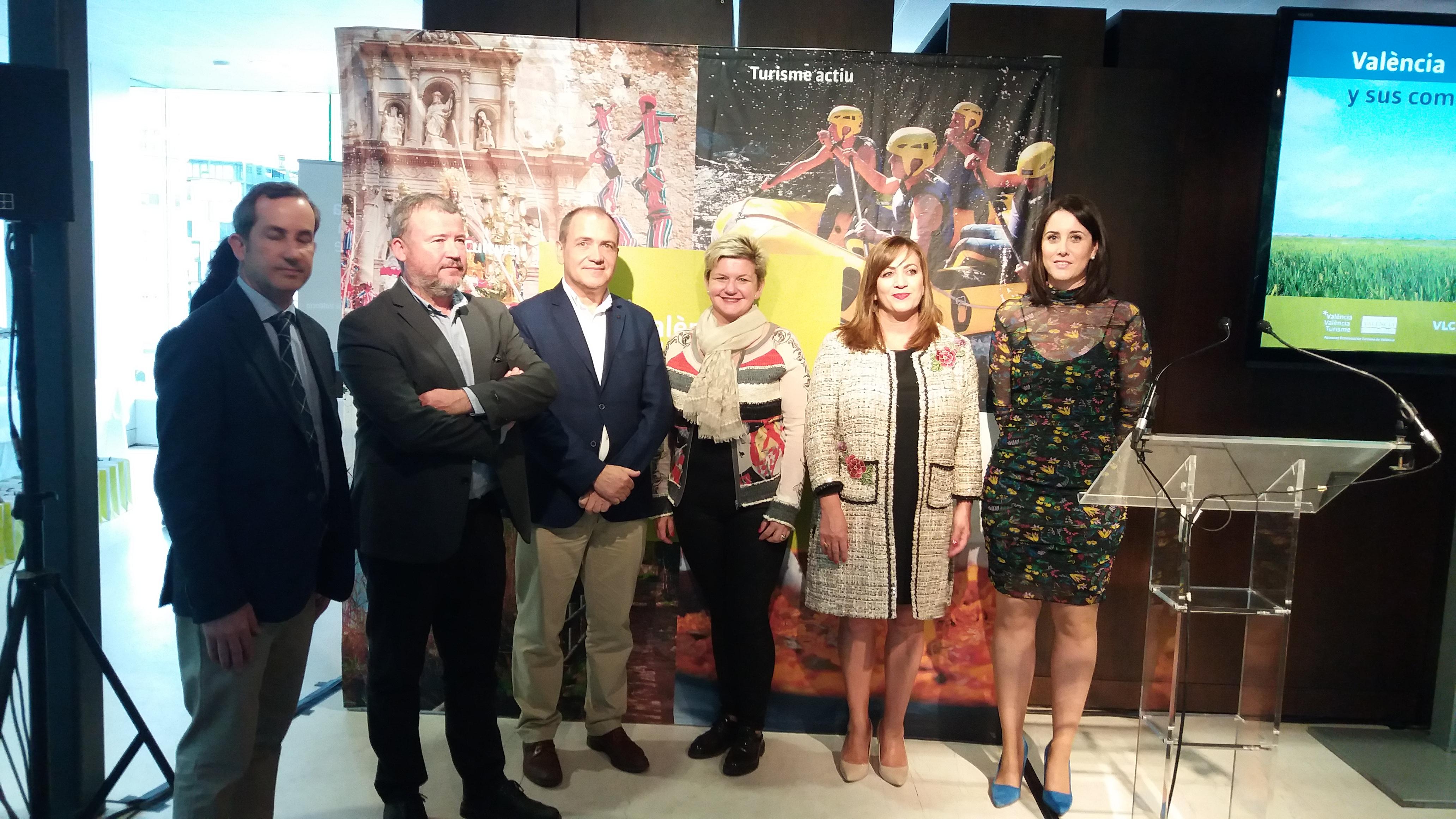 """Pilar Moncho presenta territorio y gastronomía local en Bilbao con el programa """"Del tros al plat"""" de València Turisme"""