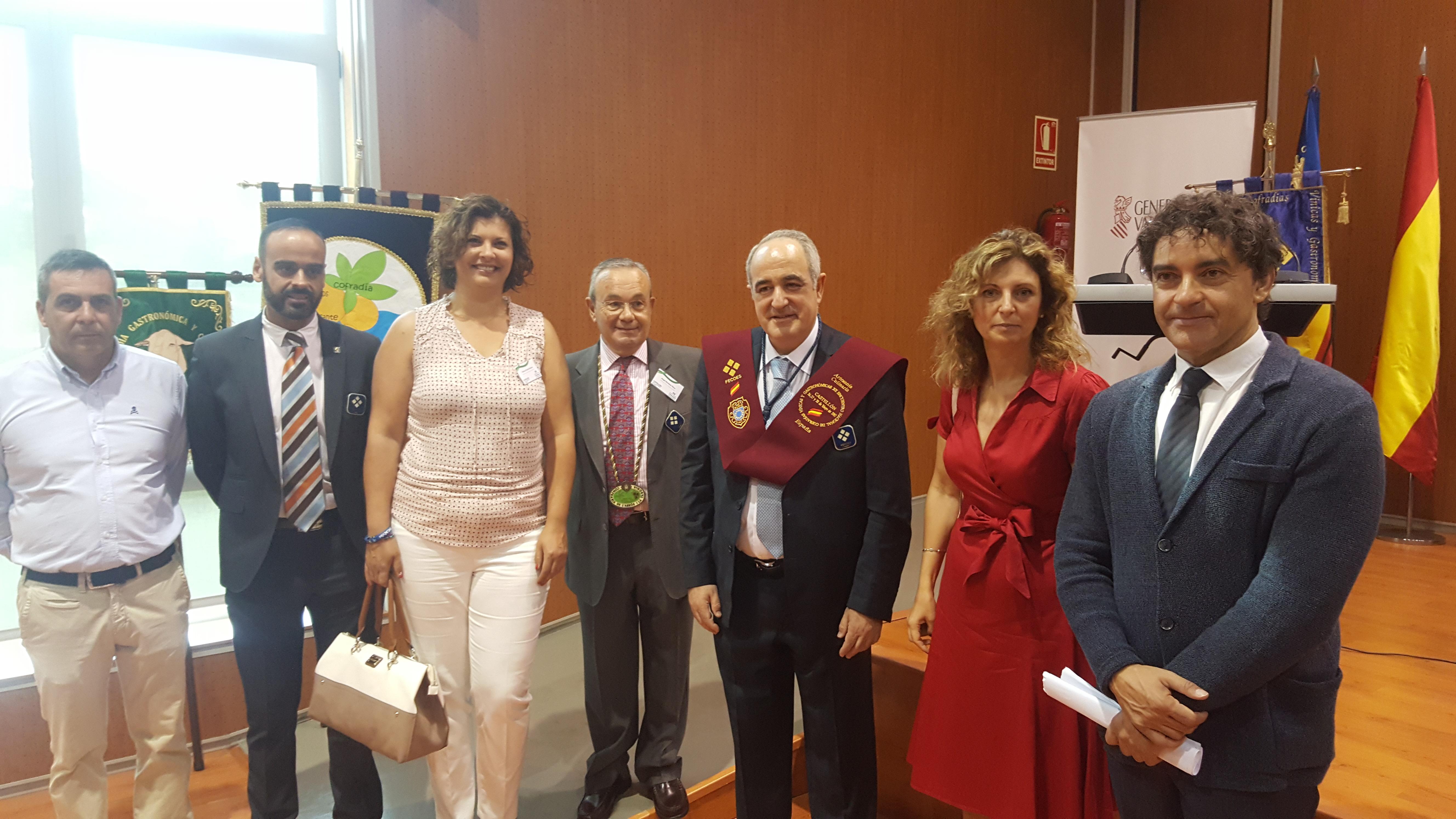 El CdT de Castellón recibe el premio nacional 'Artesanía Culinaria 2017' a la mejor institución promotora de gastronomía y turismo