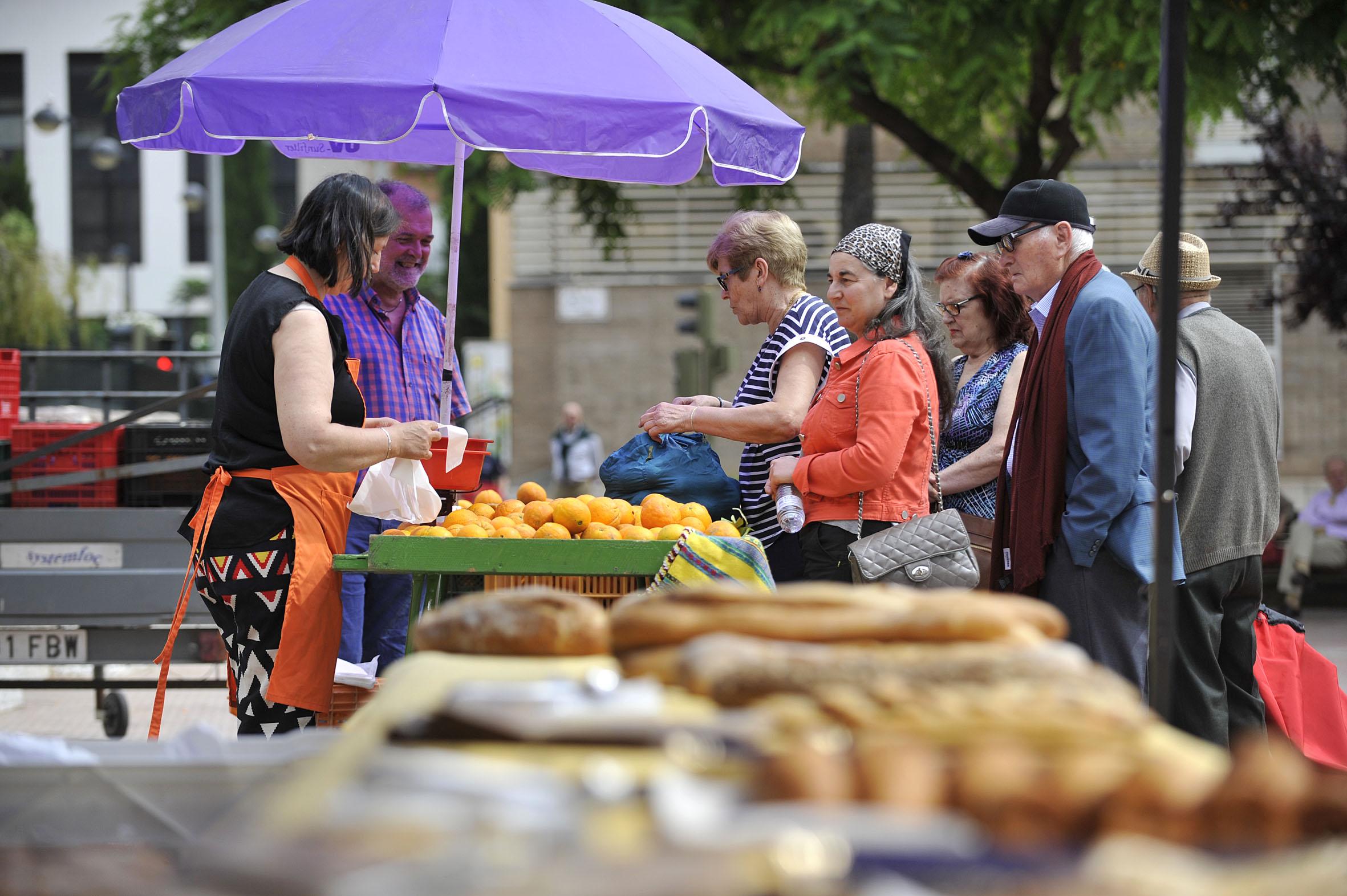 Castellón cierra la campaña de la Fira de la Taronja con 195.000 kilos de cítricos vendidos