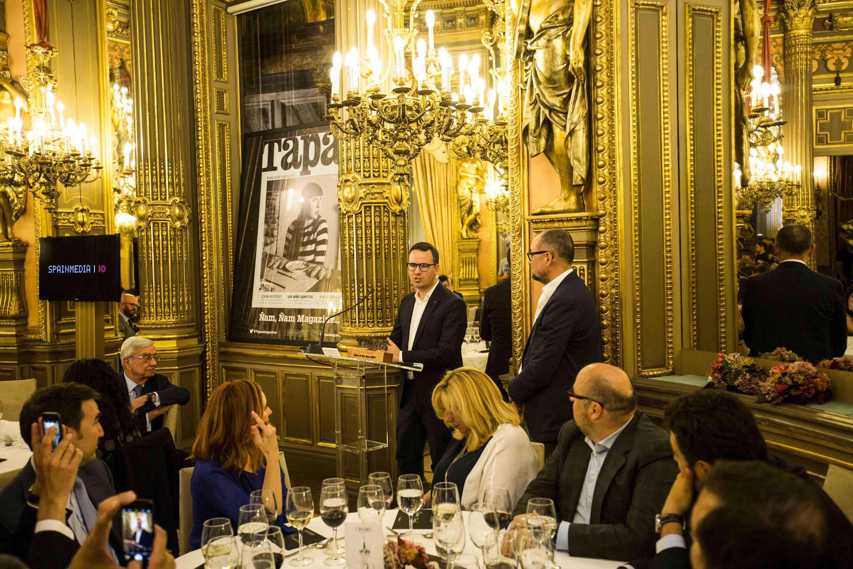 El chef cordobés Paco Morales (Noor) recibió anoche el Premio 'Chef of the Year 2016'