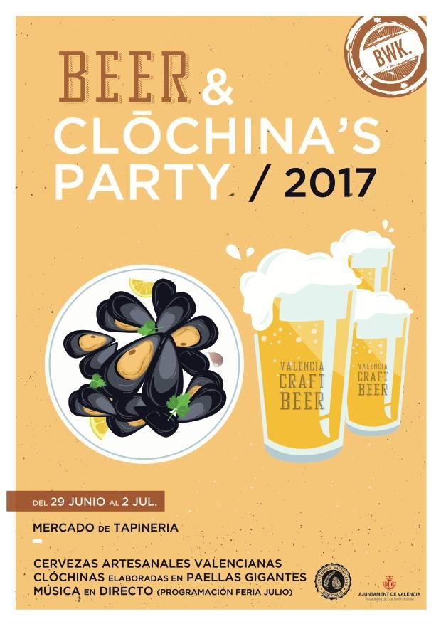 """Bierwinkel organiza la primera """"Beer&Clóchina's Party"""""""
