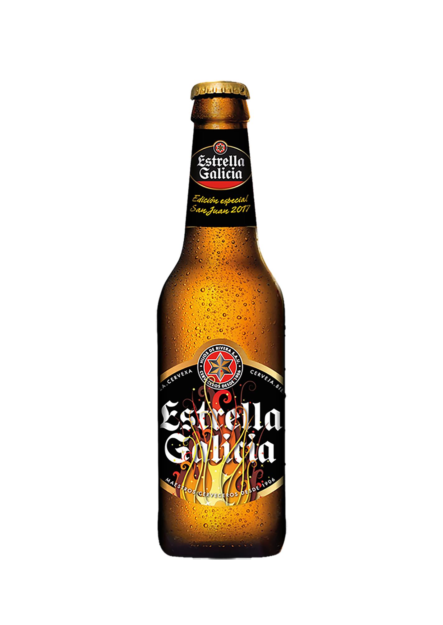 Estrella Galicia lanza una edición especial para celebrar la noche de San Juan