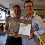 Comer en Valencia recibe el reconocimiento de Acción contra el hambre