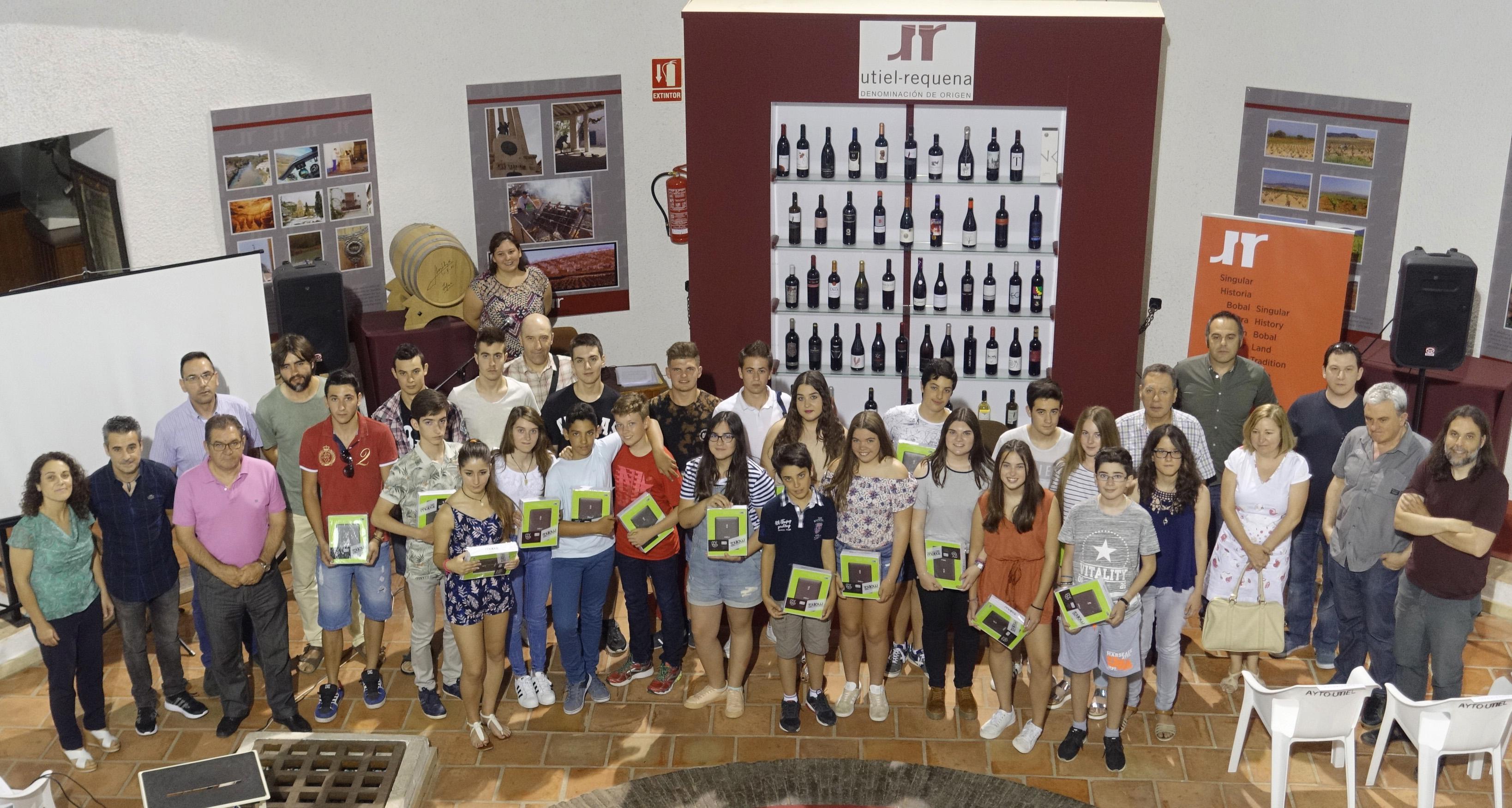La DO Utiel-Requena inicia un proyecto de Integración de la Cultura Vitivinícola en los Centros de Secundaria