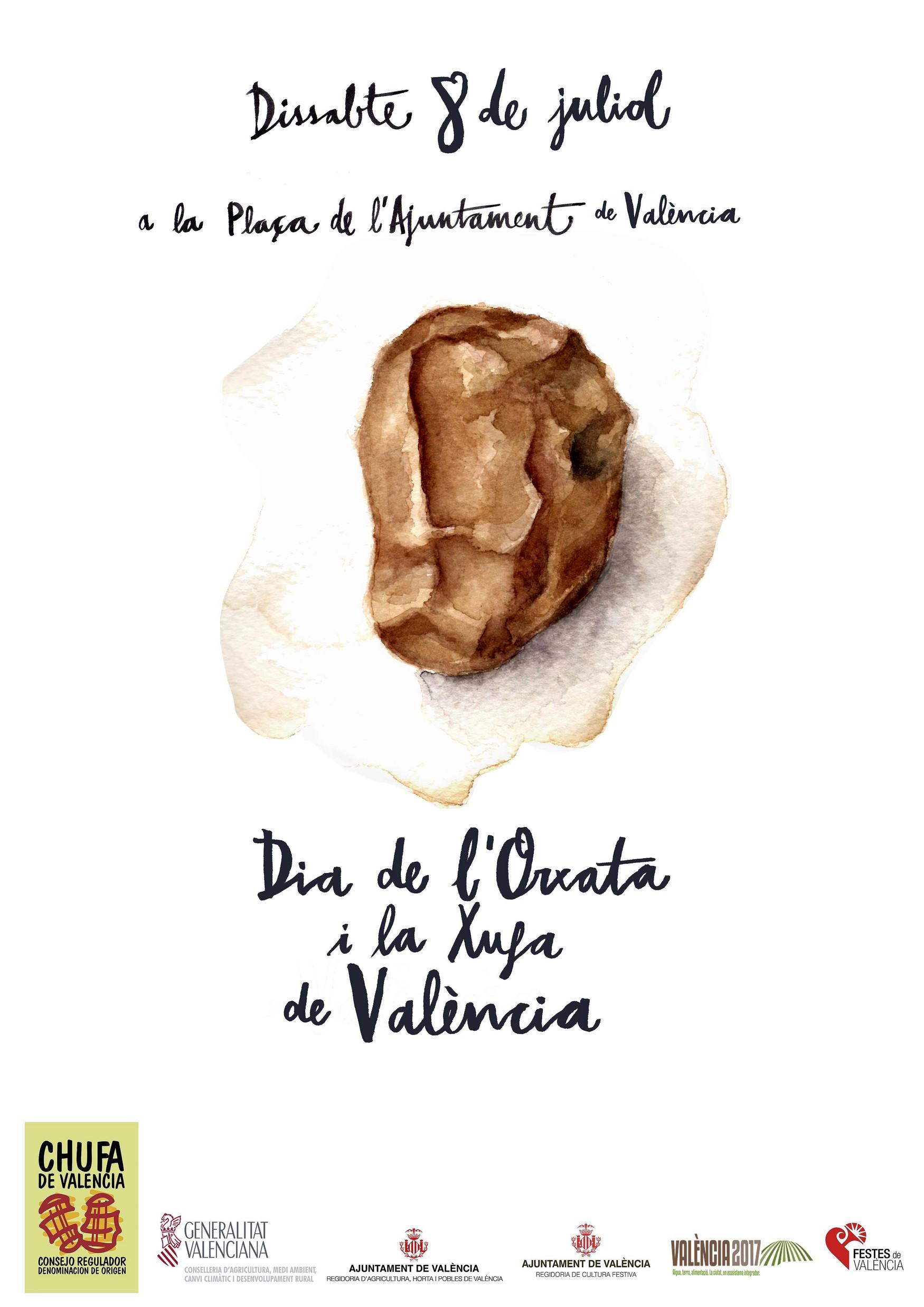 """Todo preparado para el """"Dia de l'Orxata y la Xufa de València"""""""