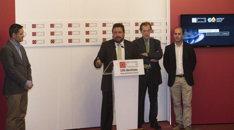 La Diputación hace de Castelló Ruta de Sabor el plato fuerte de Gastrónoma y lo descubre a 15.000 prescriptores de toda España