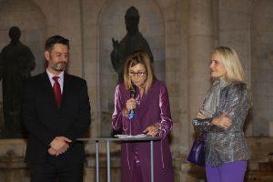 Valencia Excellence, el lobby de las tiendas de lujo del centro de Valencia, celebra su XII aniversario. en la plaza del Patriarca.