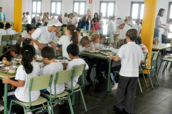 Compromís propone que los comedores escolares se sumen a los 'Lunes sin carne'