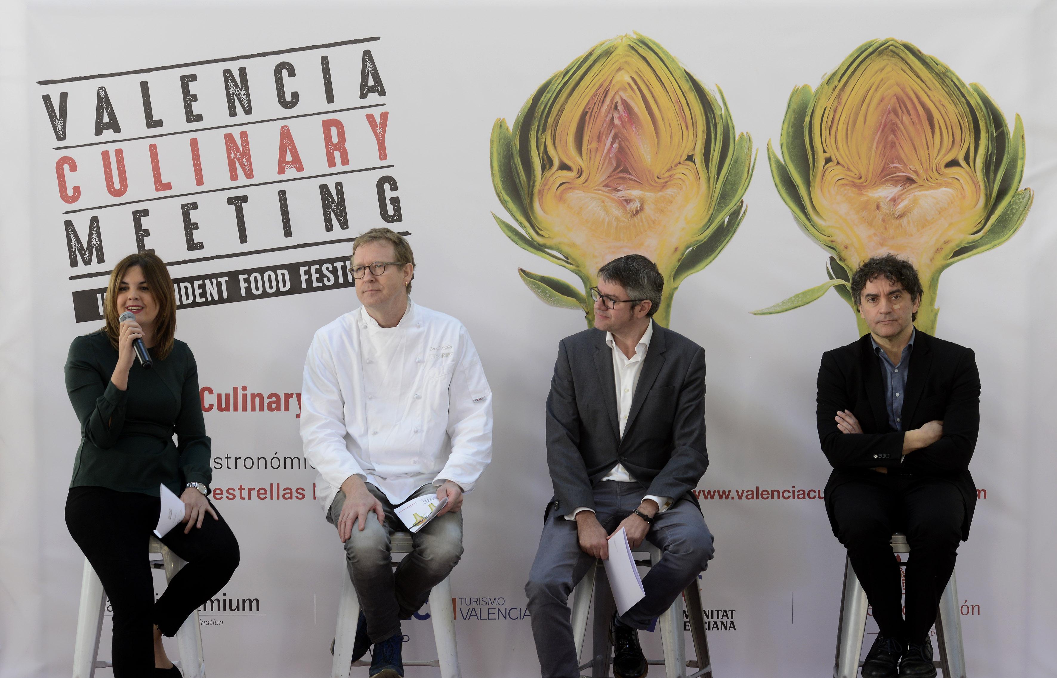 Presentación de Valencia Culinary Meeting
