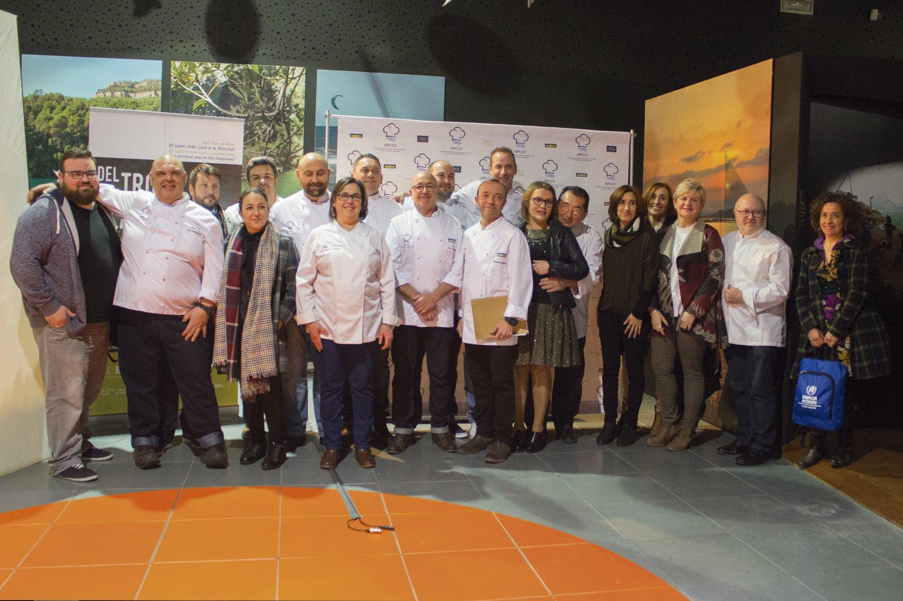 València Turisme apuesta por la nueva Asociación Profesional de Cocineros y Cocineras (APCCV)