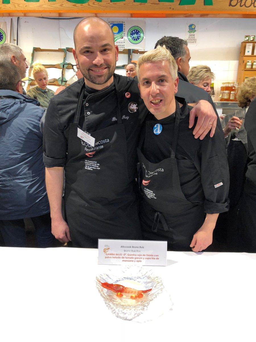 El chef Bruno Ruiz, del restaurante Aticook-Bruno Ruiz, gana el 7º Concurso Internacional de Cocina Creativa de la Gamba Roja de Dénia