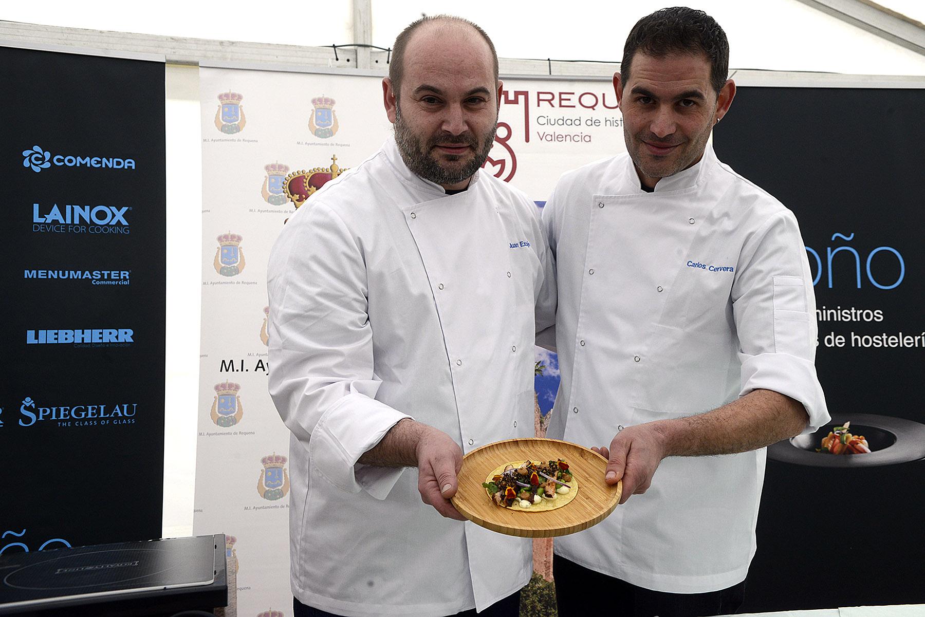 El embutido de Requena se consagra en las manos de chefs valencianos de vanguardia