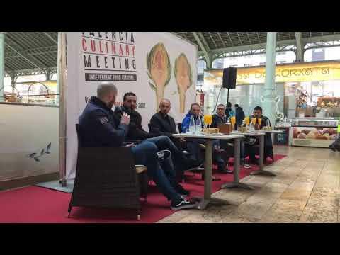 """Chefs reivindican en València el respeto """"radical"""" al producto con menús a cuatro manos"""