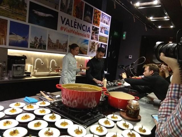Cuatro Estrellas Michelín de València ofrecen en Madrid una degustación para promocionar la ciudad
