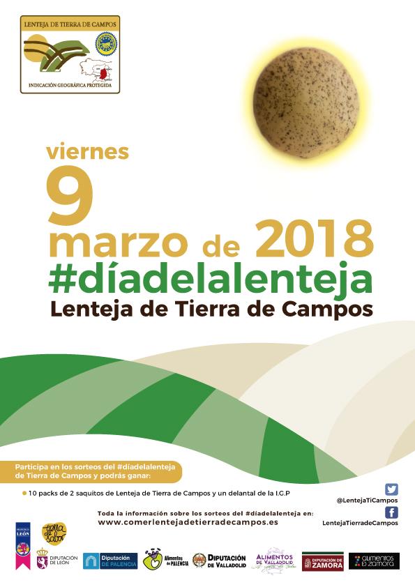 143restaurantes de toda España participarán el viernes 9de marzo en el Día de la Lenteja de Tierra de Campos