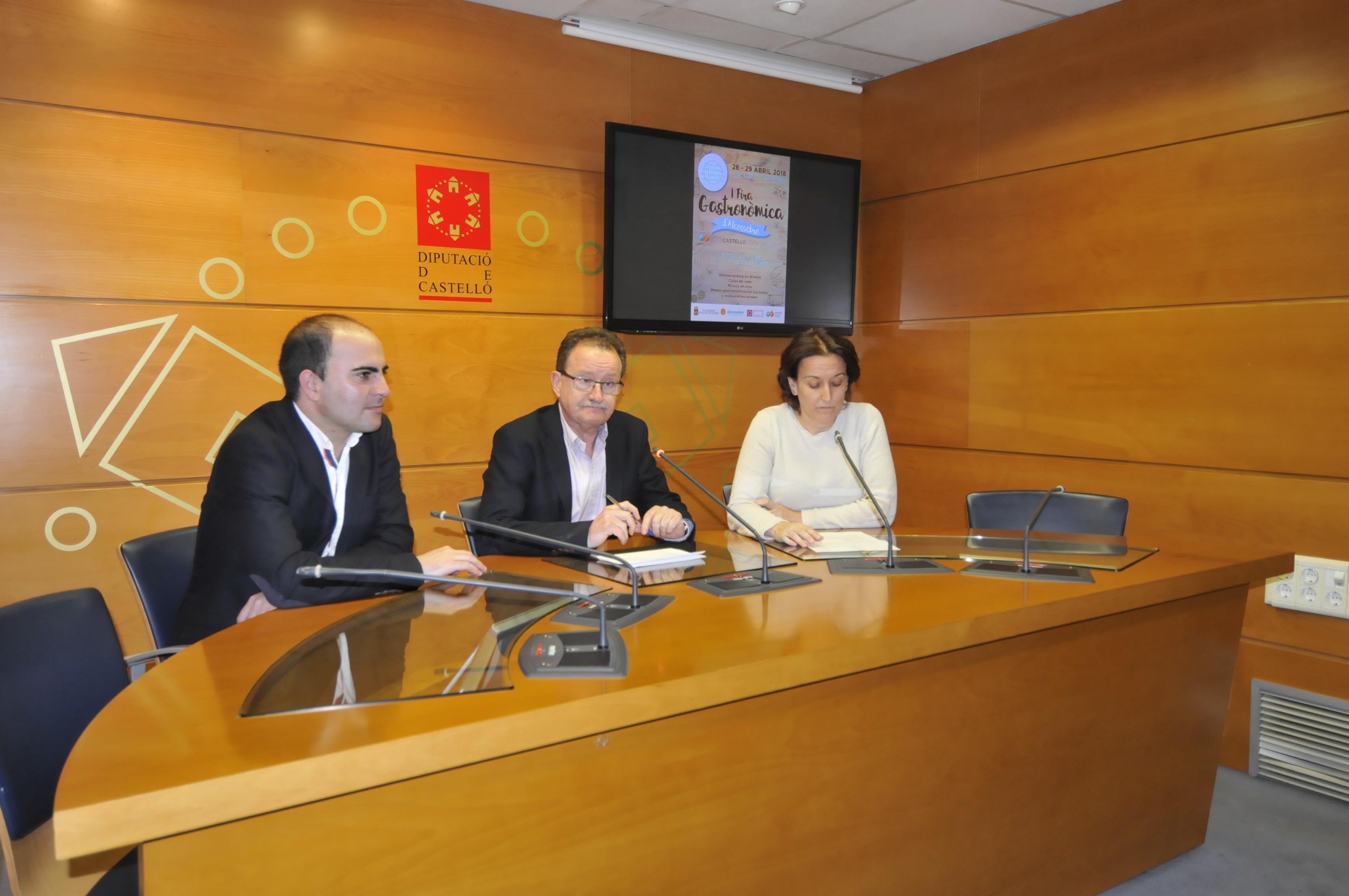 La Diputación de Castellón impulsa el turismo gastronómico en Alcalà de Xivert con la I Fira Gastronòmica Castelló Ruta de Sabor