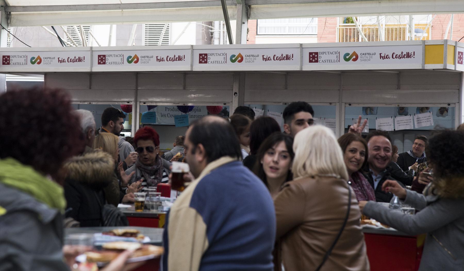 Castelló Ruta de Sabor concluye la Magdalena 'más gastronómica' con más consumo de los productos autóctonos de la provincia