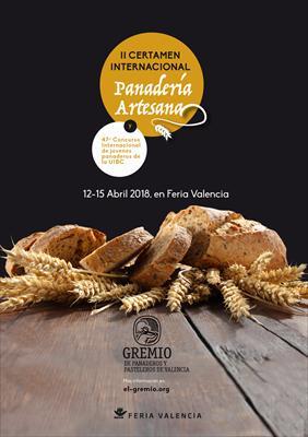 II certamen internacional de panadería artesana Valencia 2018 y 47º Campeonato mundial de jóvenes panaderos