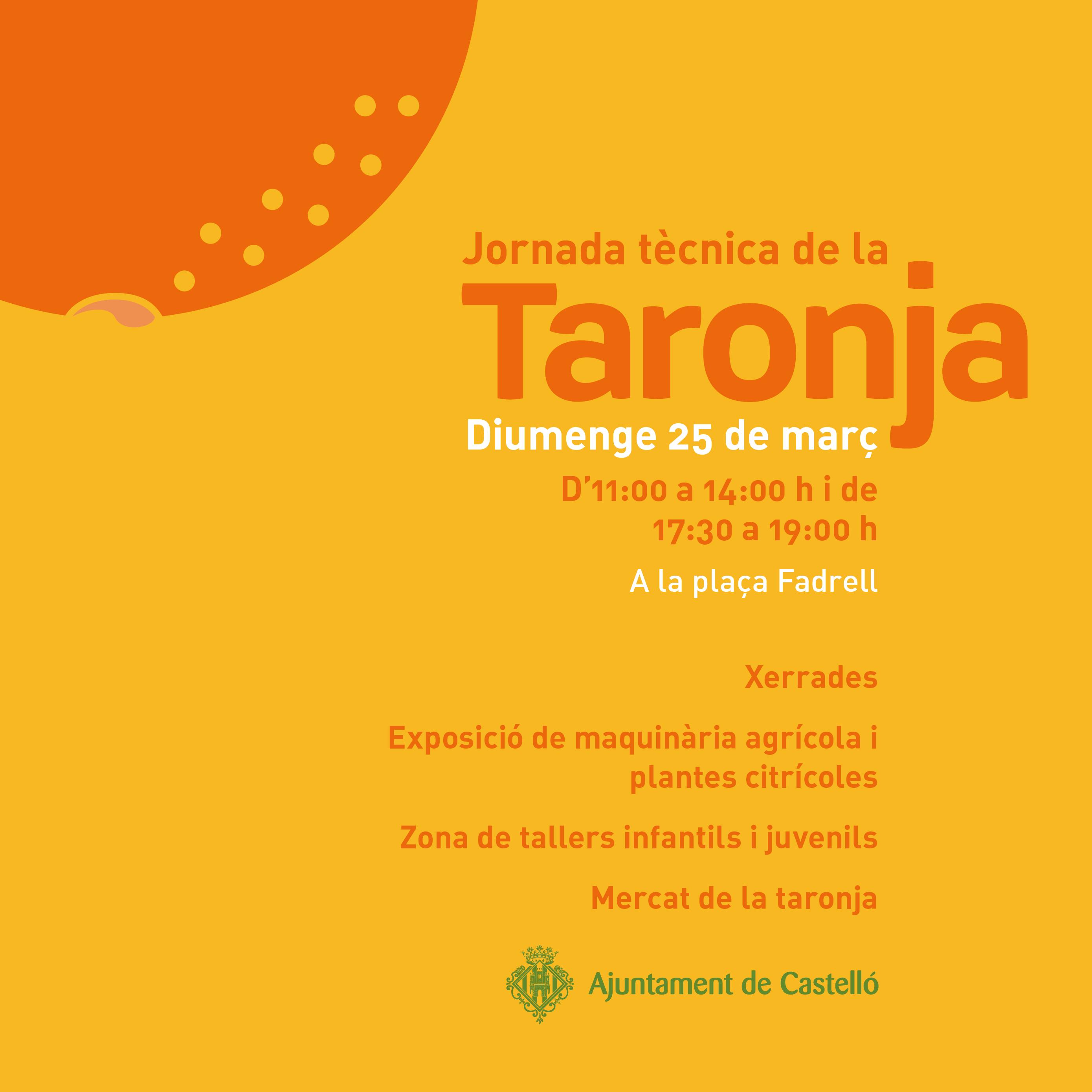 Castellón potencia el sector citrícola local con la Jornada Técnica de la Naranja