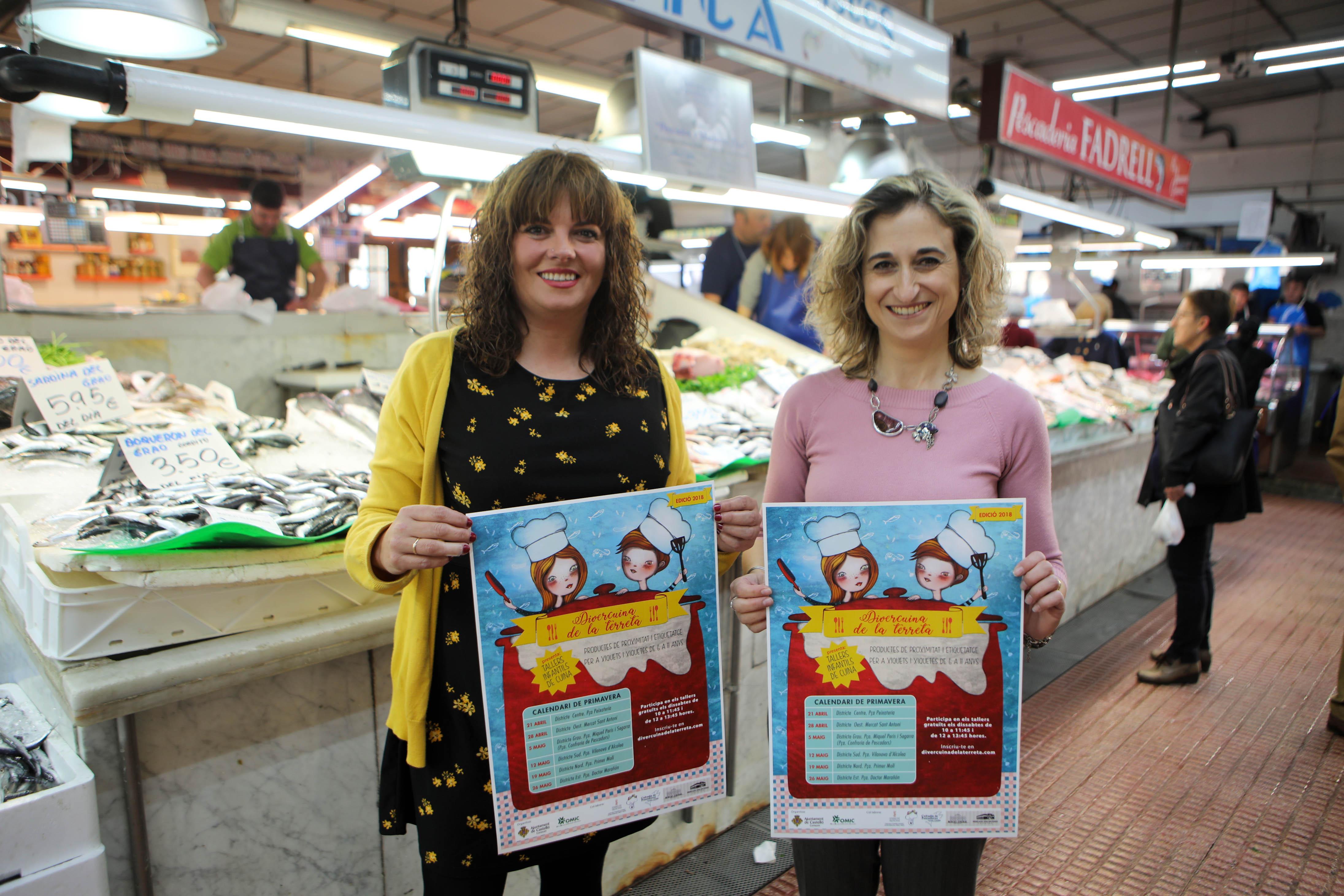 Consumo abre la segunda edición de Divercuina de la Terreta para un total de 360 niños y niñas