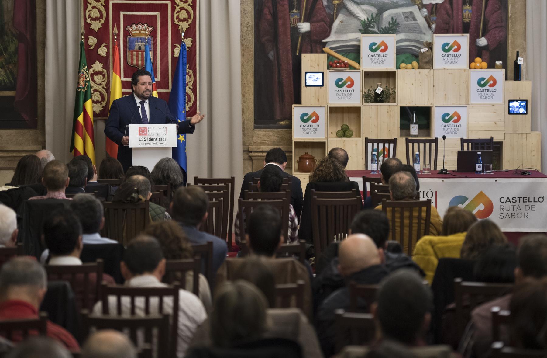 La Diputación de Castelló implica a los municipios con más tradición gastronómica en el producto turístico 'Castelló Ruta de Sabor'