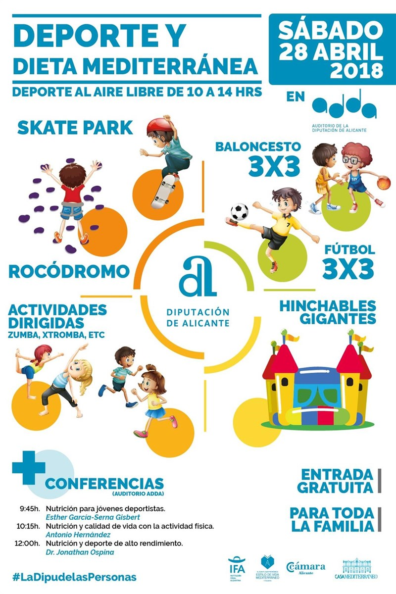 Alicante Gastronómica calienta motores el 28 de abril con un foro de deporte y dieta mediterránea