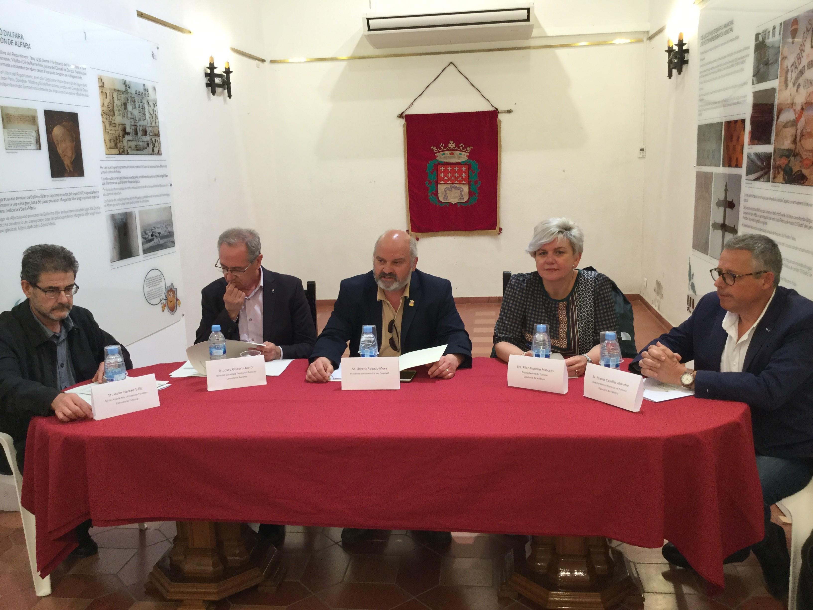 La gobernanza turística permitirá la creación de nuevos productos gastronómicos, culturales y de bienestar en La Huerta