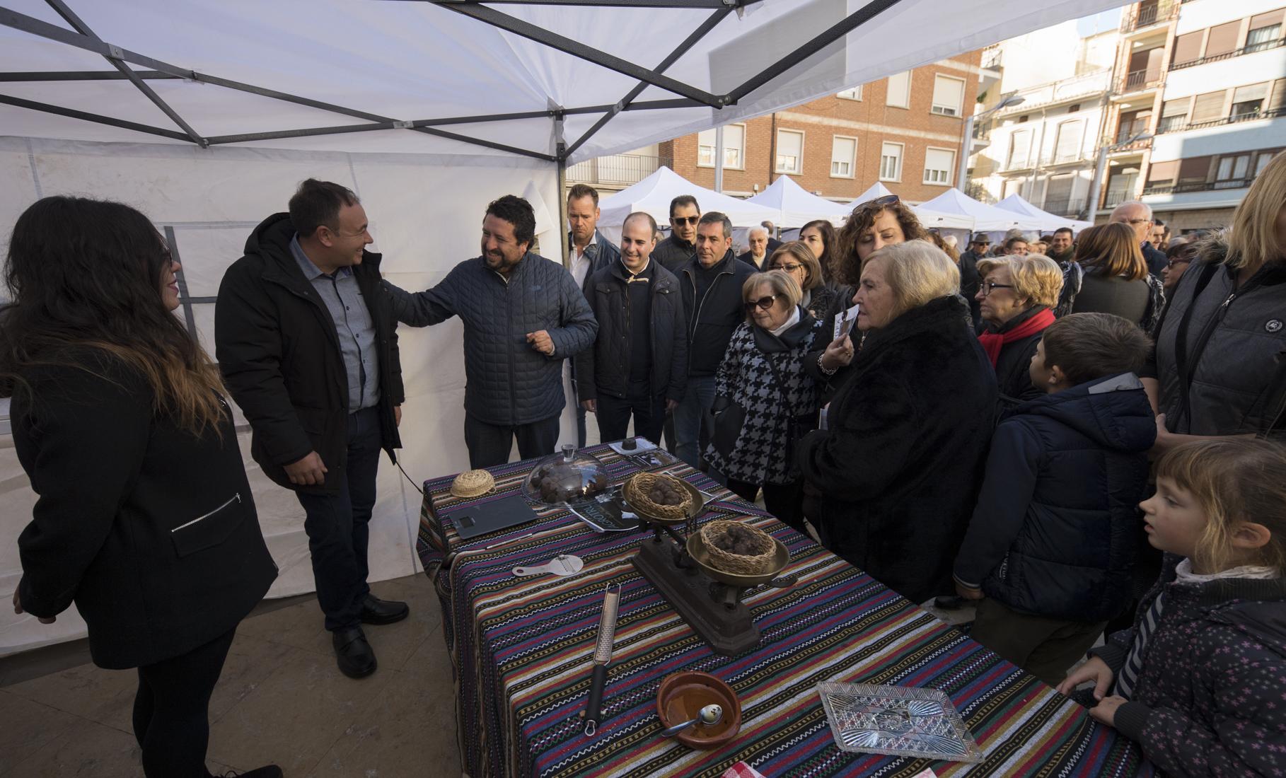La Diputación fomentará la celebración de más ferias de producto en los pueblos a través de Castelló Ruta de Sabor
