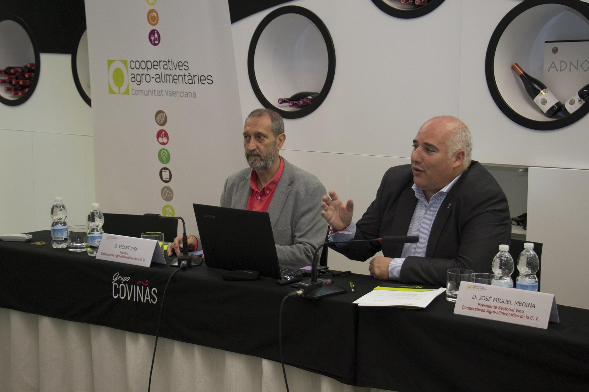 Las cooperativas vitivinícolas valencianas estudian los efectos del cambio climático en el viñedo