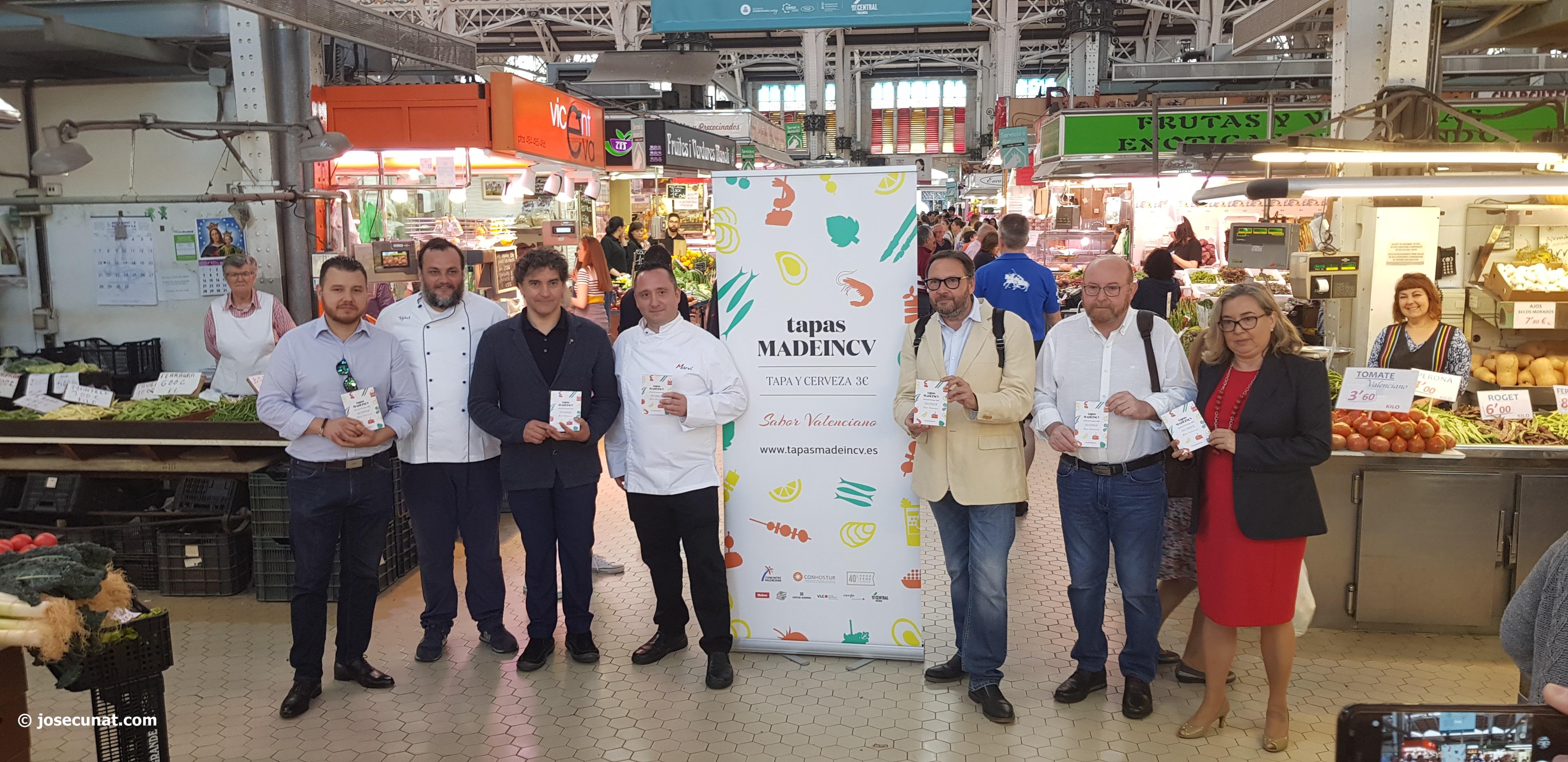 La tapa valenciana ya tiene su ruta gastronómica Tapas MadeinCV
