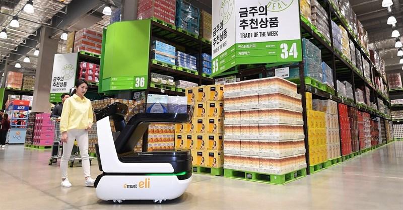 Así es Eli el carro de la compra inteligente