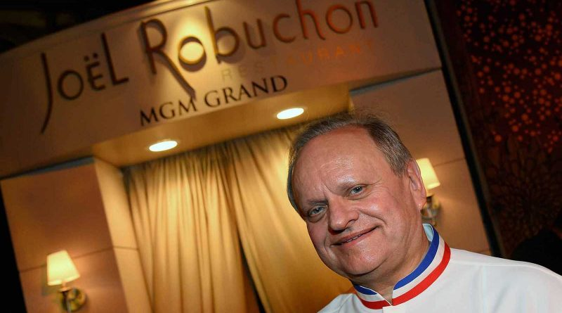 Muere Joël Robuchon, el chef francés número uno en estrellas Michelín