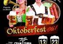 OktoberfestOlé vuelve al Centro Comercial Gran Turia (Valencia) desde el jueves 13  al domingo 23 de septiembre