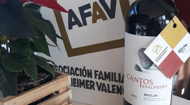 El vino Cantos de Valpiedra se venderá a beneficio de AFAV en el Rincón Solidario de El Corte Inglés